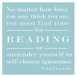 No matter how busy 