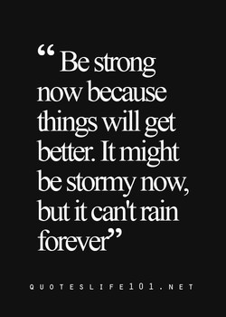 Be sfrong 