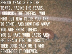 SEHOR YEAR FOR THE 