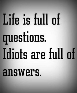 Life is full of 