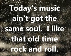 Today's musiC 