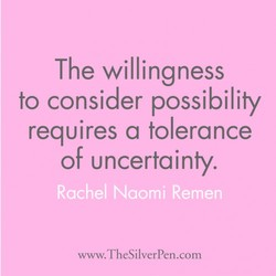 The willingness 