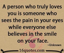 A person who truly loves 