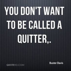 YOU DON'T WANT 