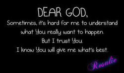 DEAR GOD 