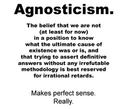 Agnosticism. 
