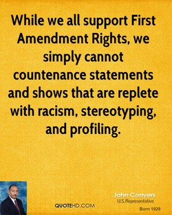 While we all support First 