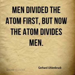 MEN DIVIDED THE 