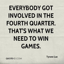 EVERYBODY GOT 
