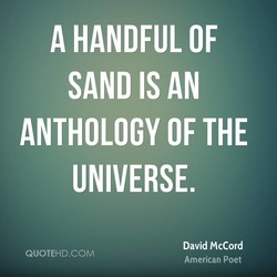 A HANDFUL OF 