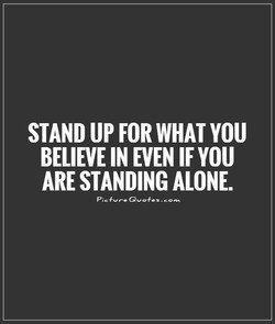 STAND UP FOR WHAT 
