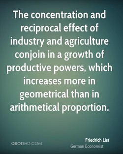 The concentration and 