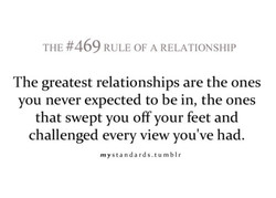 THE #469 RULE OF A RELATIONSHIP 