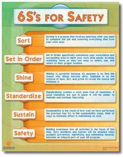6S's FOR SAFETY 