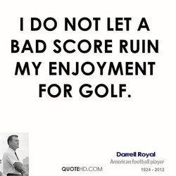 I DO NOT LET A 