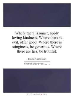 Where there is anger, apply 