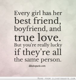 Every girl has her 