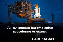 All civilizations becorne either 