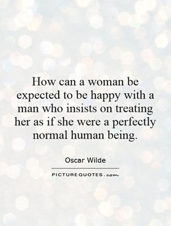 How can a woman be 