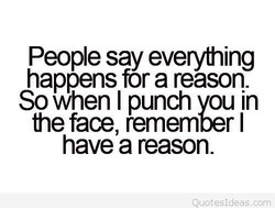 People say everything 