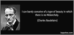 I can barely conceive of a type of beauty in which 