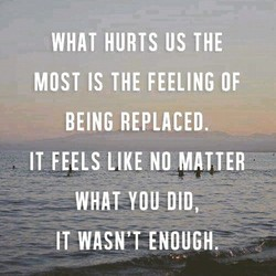 WHAT HURTS US THE 