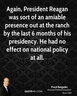 Again, President Reagan 