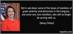 We're sad about some of the losses of members of 