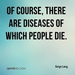 OF COURSE, THERE 