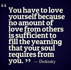 You have to love 