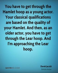 You have to get through the 