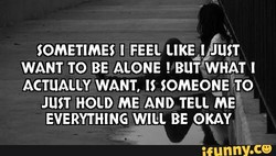 SOMETIMES FEEL JUST 