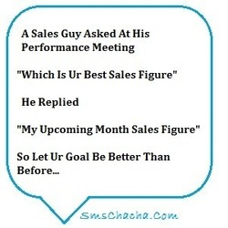 A Sales Guy Asked At His 