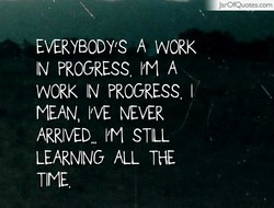 EVERYBODY'S A WORK 