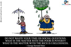 DO NOT WASTE YOUR TIME ON SOCIAL QUESTIONS. 