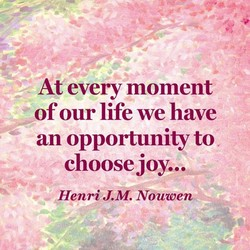 At every moment
