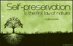 Self-preservation 