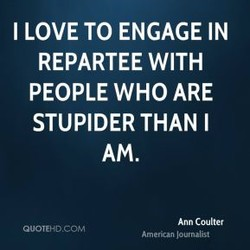 I LOVE TO ENGAGE IN 