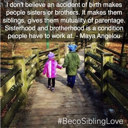 Pfdon't believe an accident of birth makes 