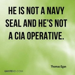 HE NOT A NAVY 