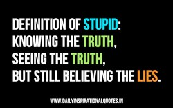 DEFINITION OF STUPID: 