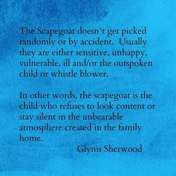 Scåpegoat doesn't get picked 