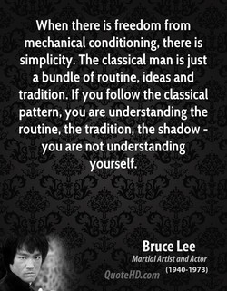When there is freedom from 