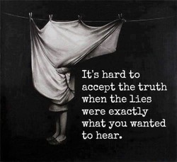 It's hard to 