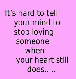 It's hard to tell 