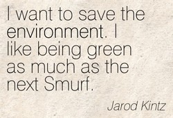 I want to save the 