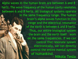 Alpha waves in the human brain are between 6 and 8 