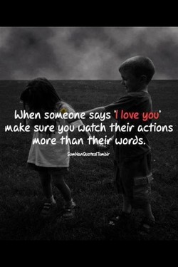 When sop.ane-— 