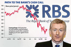 PATH TO THE BANK'S CASH CALL 