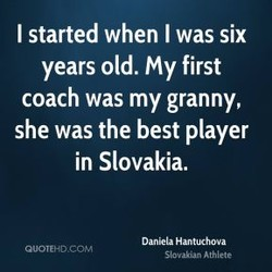 I started when I was six 